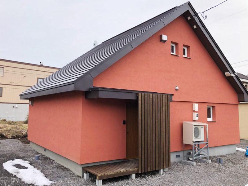 北海道の遺産 三角屋根のブロック住宅
